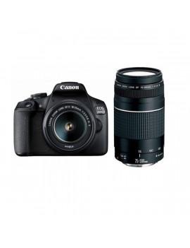Canon EOS 2000D 18-55 IS II + 75-300 DC III kit digitális tükörreflexes fényképezőgép
