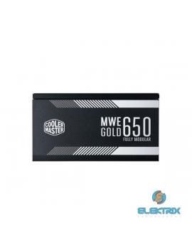 Cooler Master MWE 650W GOLD 12cm ventillátorral moduláris dobozos tápegység
