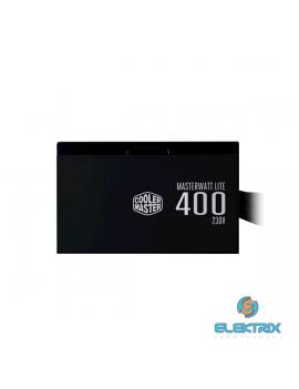 Cooler Master MasterWatt Lite 400W PFC 12 cm ventilátorral dobozos tápegység