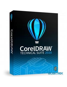 CorelDRAW Technical Suite 2020 ENG ML dobozos szoftver