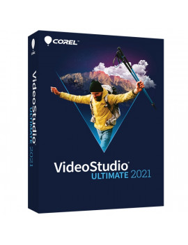 Corel VideoStudio 2021 Ultimate ENG ML dobozos szoftver