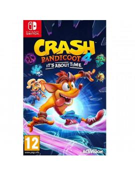 Crash Bandicoot 4: It`s About Time Nintendo Switch játékszoftver