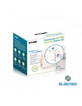 D-Link DHP-W611AV AV 1000 PowerLine AC Starter Kit