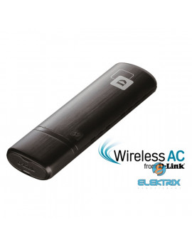 D-Link DWA-182 AC1200 Dual-Band Wireless USB Adapter