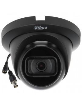 DAHUA HAC-HDW1200TLMQ-0280B-BLACK/kültéri/2MP/Lite/2,8mm/30m/Quick-to-Install fekete 4in1 HD analóg Turret kamera