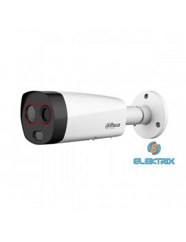 Dahua DH-TPC-BF2221-HTM testhőmérséklet-méréshez IP hő- és láthatófény csőkamera