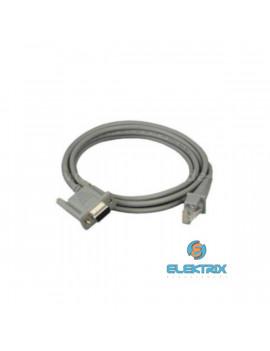 Datalogic CAB-327 RS232 egyenes kábel 9P kültáp