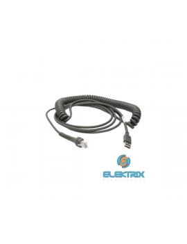Datalogic CAB-426 kábel USB rugózott 2,4m