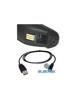 Datalogic QuickScan QBT2400 BT USB 2D fekete vonalkódolvasó microUSB kábellel