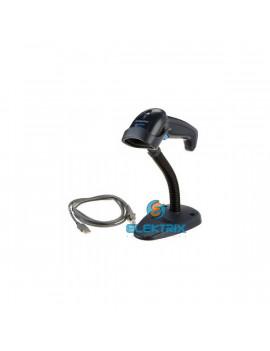 Datalogic Quickscan QD2430 2D fekete vonalkódolvasó USB kit állvánnyal