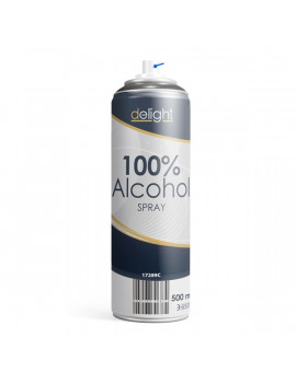 Delight 500ml 100% Alkohol spray