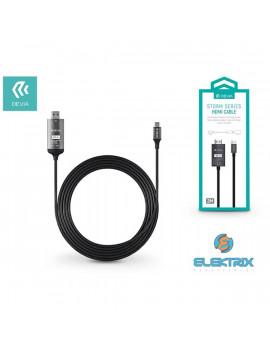 Devia ST316135 Storm HDMI/USB Type-C 2m adapterkábel