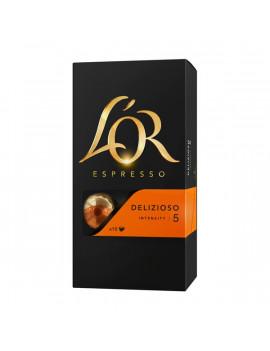 Douwe Egberts L`OR Delizioso Nespresso kompatibilis 10 db kávékapszula