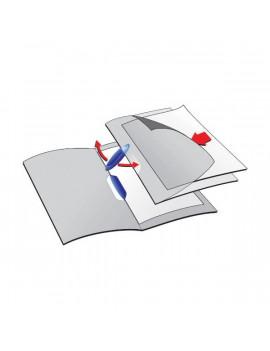 Durable Swingclip A4 30lapos fekete clip-mappa