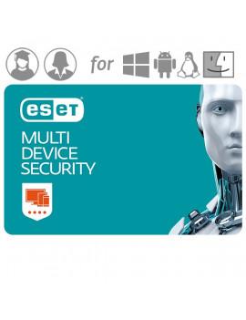 ESET Multi-Device Security hosszabbítás Tanár-Diák HUN 4 Felhasználó 1 év online vírusirtó szoftver