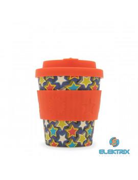 Ecoffee Cup Little Star 250ml hordozható csillag mintás kávéspohár