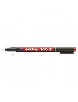 Edding 140 S OHP Permanent 0,3mm BL piros marker