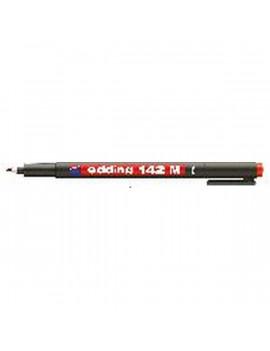 Edding 142 M OHP Permanent 1mm BL piros marker