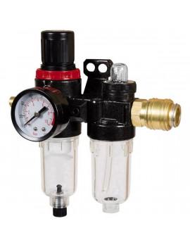 Einhell 4135001 1/4-es nyomásszabályzóval ellátott víz-és olajleválasztó
