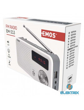 Emos E0086 EM-213 MP3-as, USB-s rádió