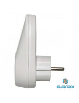 Emos P0072 fehér USB-s aljzat elágazó