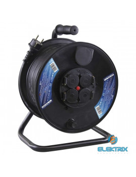Emos P08250 kültéri kábeldob 3x1,55mm2 IP44 50m-es kábellel