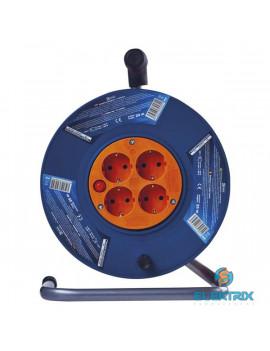 Emos P09220 kábeldob 3x1mm2 20m-es kábellel 4 aljzat