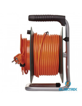 Emos P09325 kábeldob IP20 3x1,5mm2 25m-es kábellel