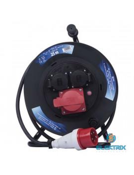 Emos P192250 kültéri IP44 kábeldob 230/400V 3x1,5mm2 25m-es kábellel