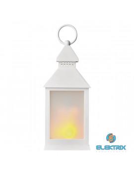 Emos ZY2346 12LED/3×AAA vintage lángoló fehér lámpás