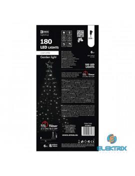 Emos ZY2361T 180LED/IP44 időzítős csillagos karácsonyi kültéri fényfüzér