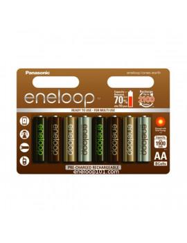 Eneloop BK-3MCCE/8UE Earth AA 1900mAh Ni-MH akkumulátor 8db/ bliszter