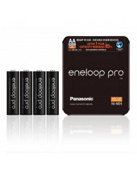 Eneloop pro 3HC-SP-4 AA 2450mAh 4db-os Sliding Pack Ni-MH akkumulátor