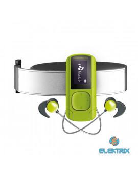 Energy Sistem EN 447244 Clip Sport Bluetooth-os 16GB zöld MP3 lejátszó