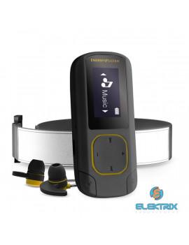 Energy Sistem EN 448272 Clip Sport Bluetooth-os 16GB fekete/borostyán MP3 lejátszó