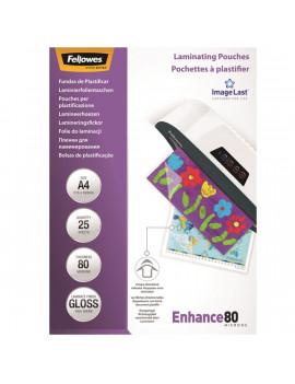 Fellowes A4 80 mikron fényes lamináló fólia