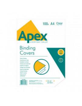 Fellowes Apex Light A4 140mic 100db-os víztiszta előlap