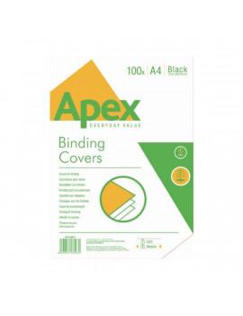 Fellowes Apex Medium A4 230g 100db-os matt fekete hátlap