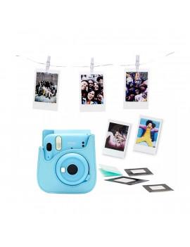 Fujifilm Instax Mini 11 2020 égkék fényképezőgép + tok + album + 10 db képre film