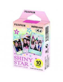 Fujifilm Instax Mini fényes Shiny Star 10 db képre film
