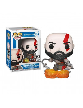 Funko POP! Games (154) PlayStation - Kratos with The Blades of Chaos figura