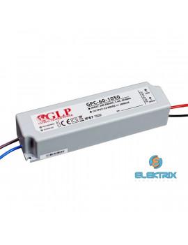GLP GPCP-60-1050 63W 30~60V 1050mA IP67 LED tápegység