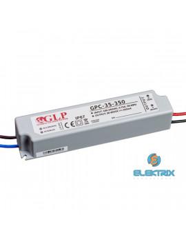 GLP GPC-35-350 28W 30~80V 350mA IP67 LED tápegység