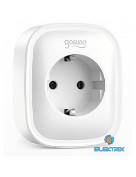 GOSUND SP112 2xUSB/hangvezérlés/távoli vezérlés/ütemezés/fogyasztásmérés/230V/16A/Smart Wi-Fi-s okoskonnektor