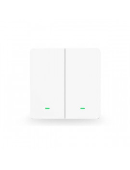 GOSUND SW9 Smart kétbillentyűs Wi-Fi-s fali kapcsoló, 230V, max. 10A