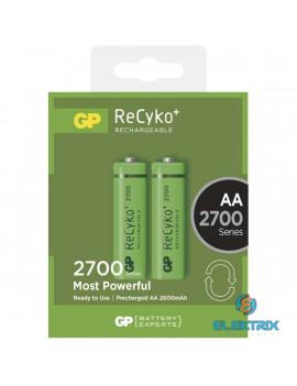 GP ReCyko+ ceruza (AA) akku 2700mAh 2db/blister