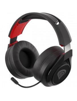 Genesis Selen 400 vezeték nélküli fekete mikrofonos gamer fejhallgató