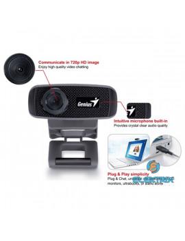 Genius Facecam 1000X_V2 fekete webkamera