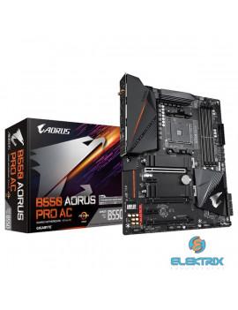 Gigabyte B550-AORUS-PRO-AC AMD B550 SocketAM4 ATX alaplap