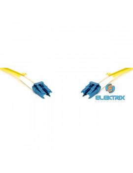 Gigalight Duplex optikai patch kábel 4 x LC/UPC csatlakozóval, 3mm duplex core 9/125 LSZH, 3 m
